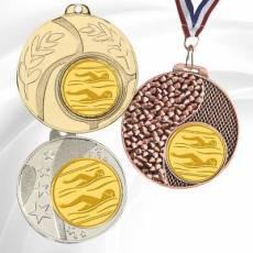 Médailles avec pastille Natation