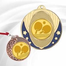 Médailles avec pastille Tennis de Table