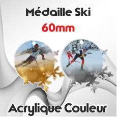 MÉDAILLES COULEUR 60MM