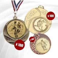 Pack de Médailles Football