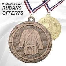 Médailles avec Rubans Offerts
