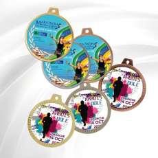 Médaille Création impression couleurs
