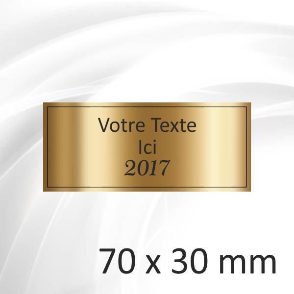 70x30mm - 3 lignes - 2.60€