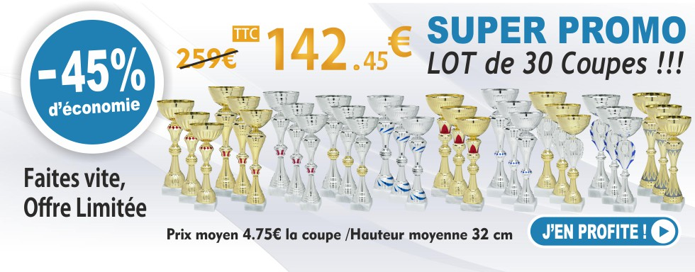 LOT GEDI 30 coupes